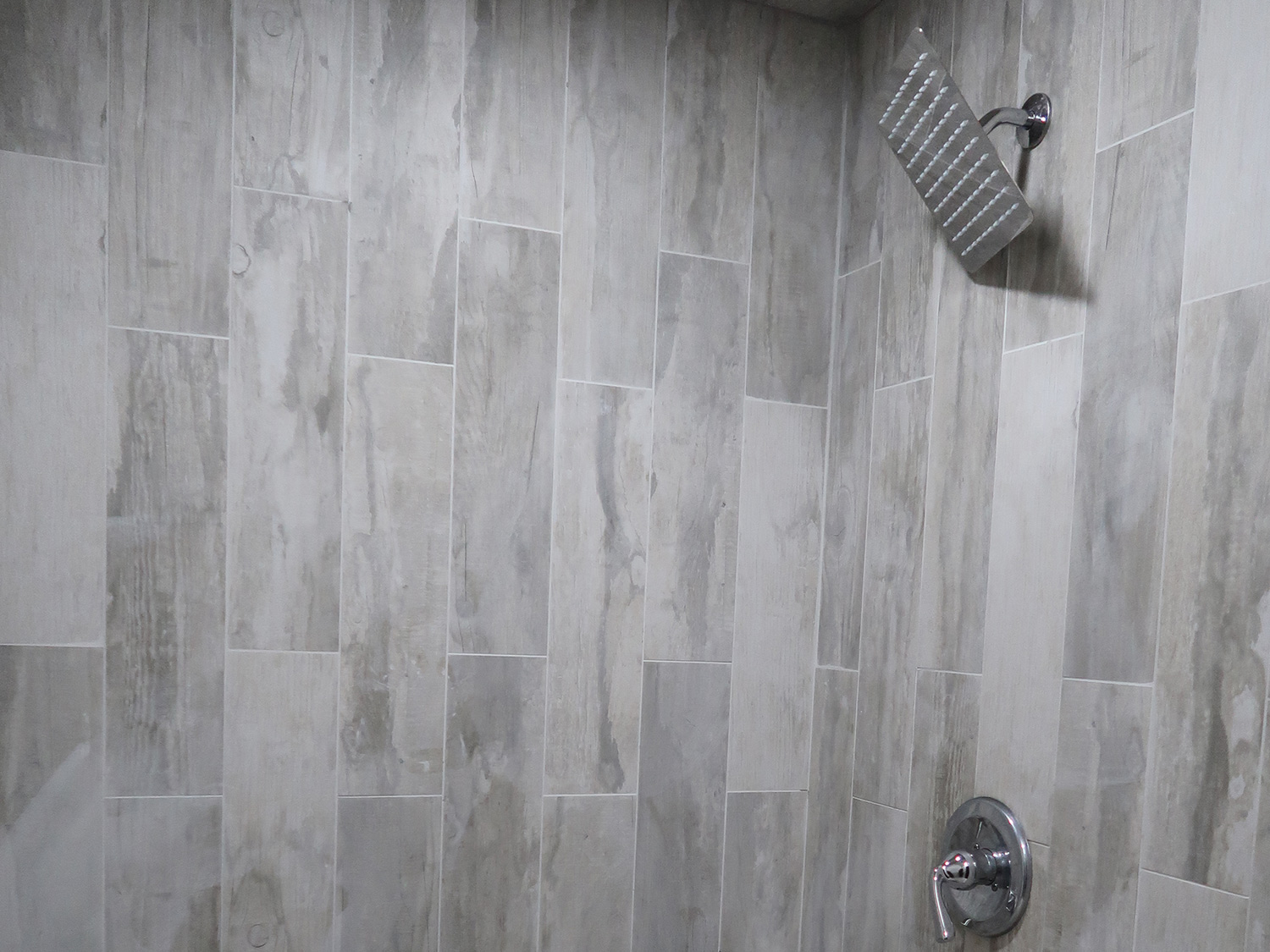 shower in the work space